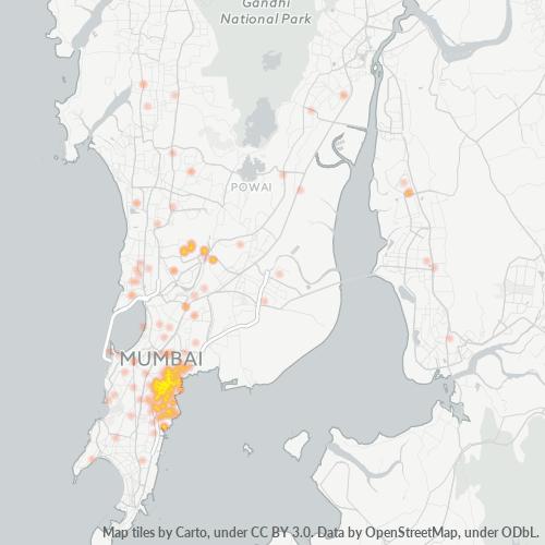 400015 Business Density Heatmap