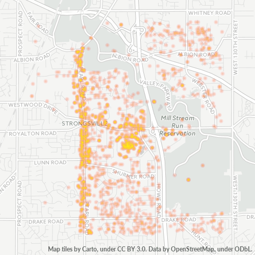 44136 Business Density Heatmap