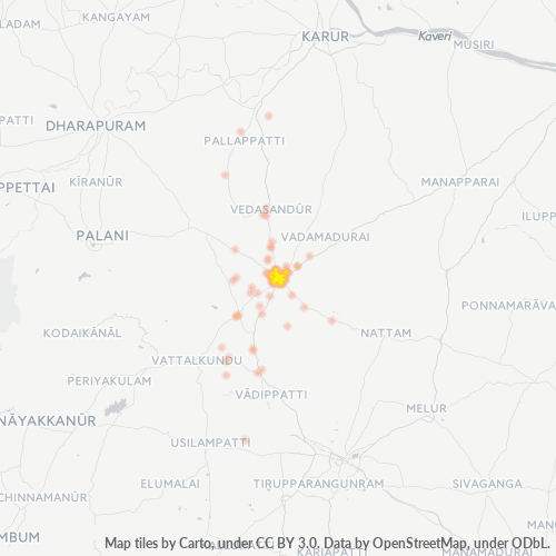 624001 Business Density Heatmap