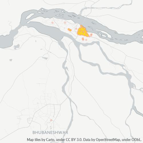 753004 Business Density Heatmap