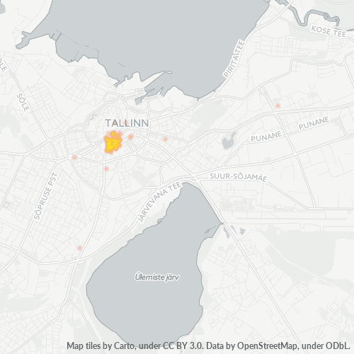 10141 Тепловая карта плотности предприятий