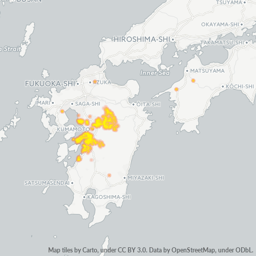 869 事業密度ヒートマップ