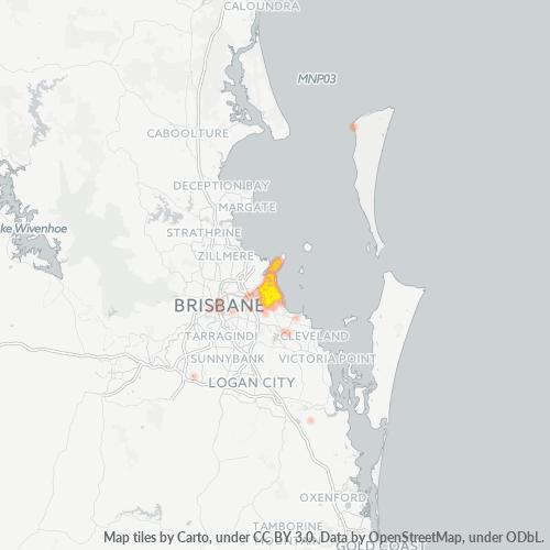 4178 Business Density Heatmap