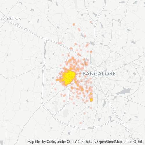 560040 Business Density Heatmap