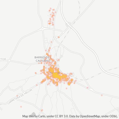 02400 Mapa de calor de densidad empresarial