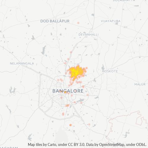 560077 Business Density Heatmap