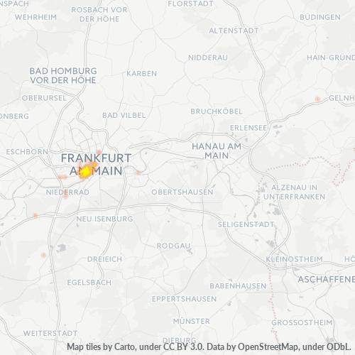 60329 Standortdichte-Heatmap