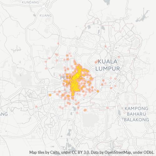 47300 企业密度热图