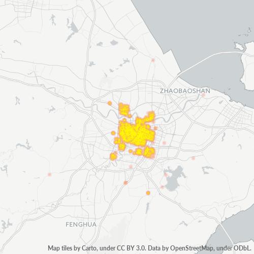 315000 企业密度热图
