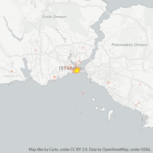 34122 Şirket Yoğunluğu Isı Haritası