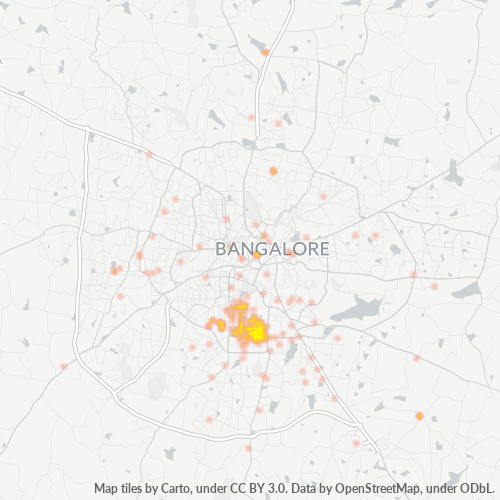 560069 Business Density Heatmap