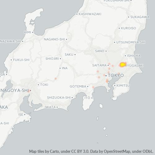 301 事業密度ヒートマップ