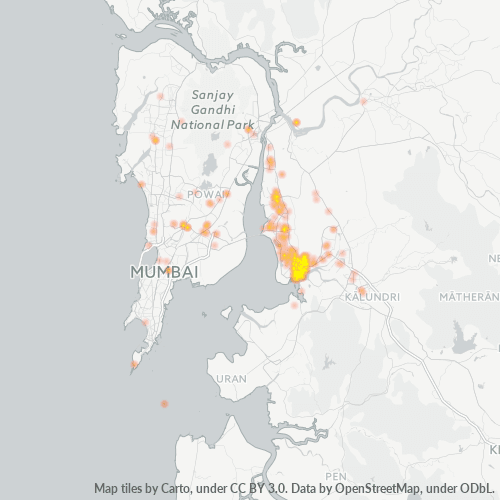 400614 Business Density Heatmap