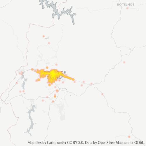 37701-000 Heatmap de Densidade da Empresa