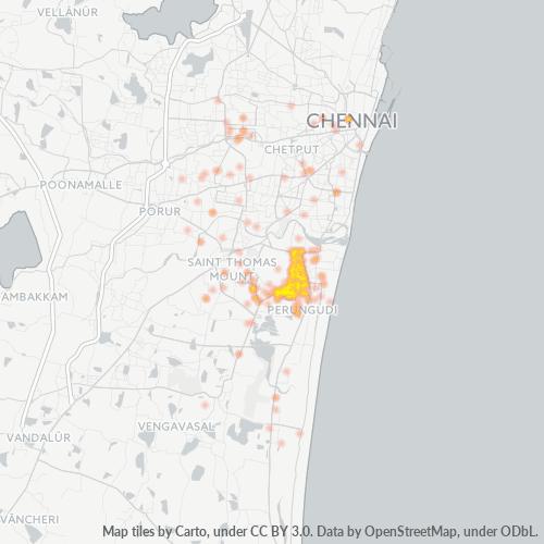 600113 Business Density Heatmap