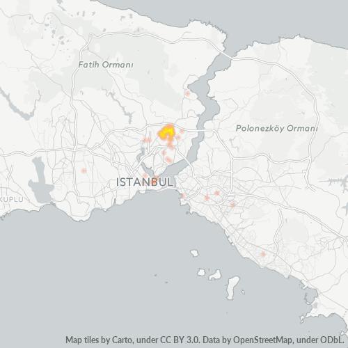 34416 Şirket Yoğunluğu Isı Haritası
