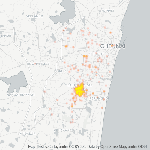600088 Business Density Heatmap