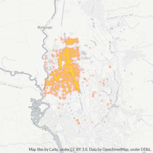 1216 Business Density Heatmap