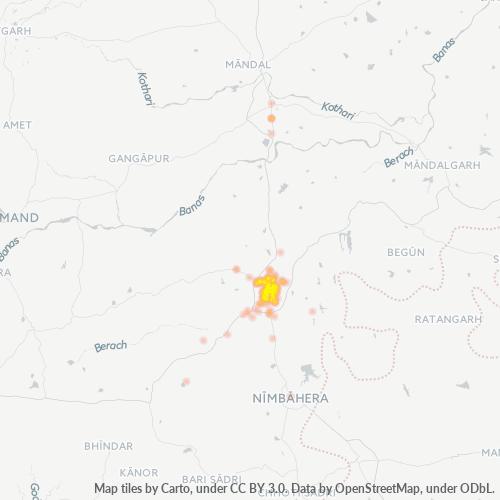 312001 Business Density Heatmap