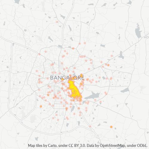 560047 Business Density Heatmap