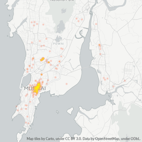 400031 Business Density Heatmap