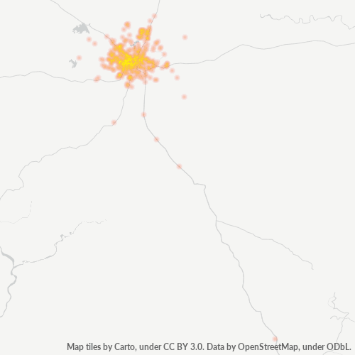 825301 Business Density Heatmap