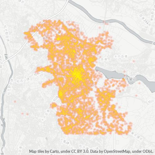 277 事業密度ヒートマップ