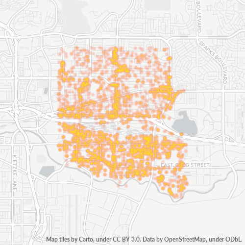 89431 Business Density Heatmap