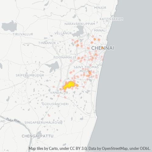 600059 Business Density Heatmap
