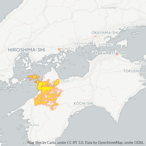 791 事業密度ヒートマップ