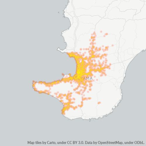 294 事業密度ヒートマップ