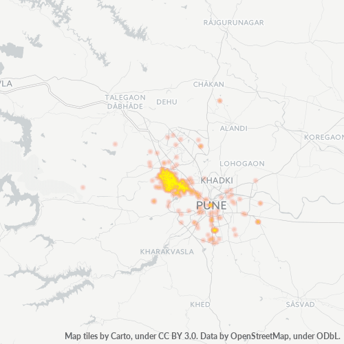 411045 Business Density Heatmap