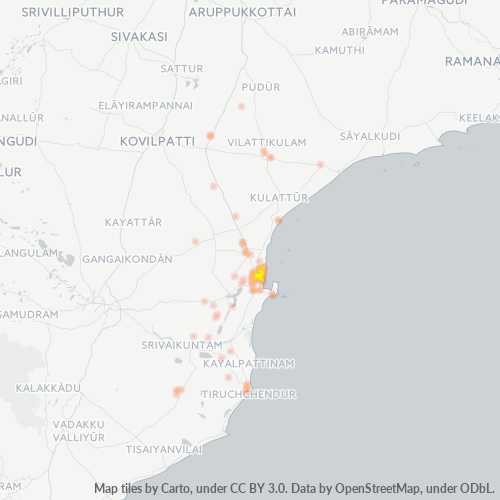 628001 Business Density Heatmap