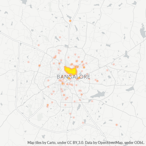 560051 Business Density Heatmap