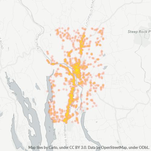 06776 Business Density Heatmap
