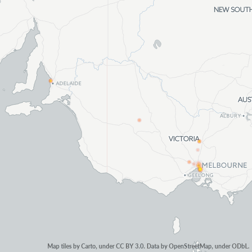 3192 Business Density Heatmap