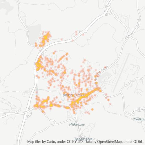 26330 Business Density Heatmap