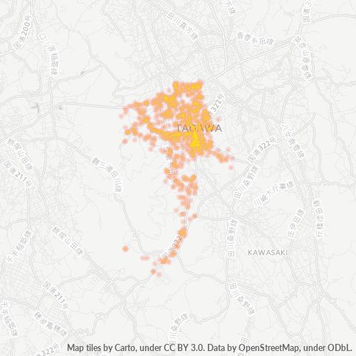 826 事業密度ヒートマップ
