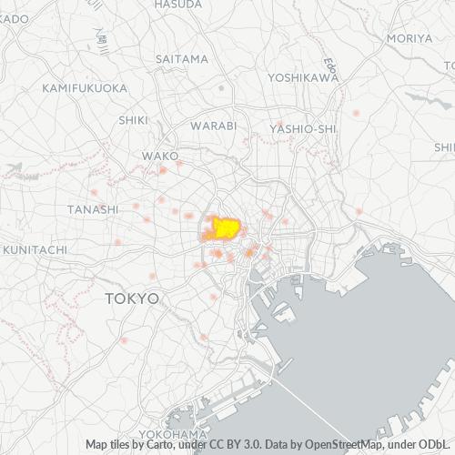 162 事業密度ヒートマップ