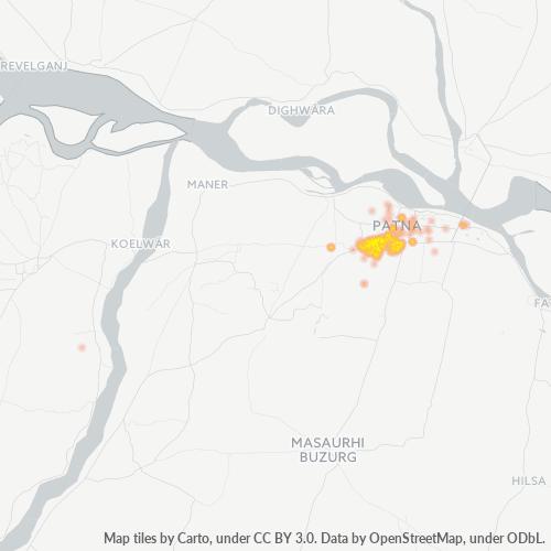 800002 Business Density Heatmap