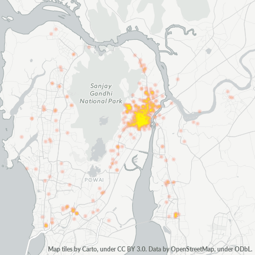 400602 Business Density Heatmap