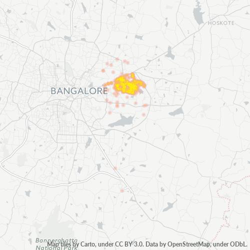 560093 Business Density Heatmap