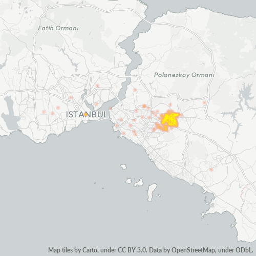 34776 Şirket Yoğunluğu Isı Haritası