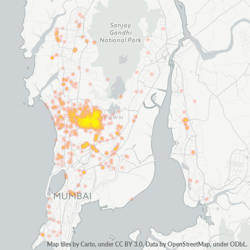 400059 Business Density Heatmap