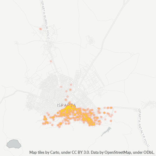 32040 Şirket Yoğunluğu Isı Haritası