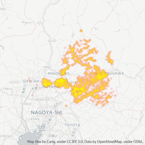 509 事業密度ヒートマップ