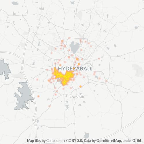 500064 Business Density Heatmap